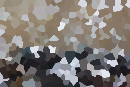 scatters: Colourful crystallize abstract background in brown and kaki colour tone
