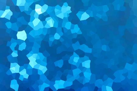 crystallize: Colourful crystallize abstract background in fresh light blue colour tone