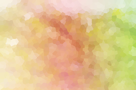 crystallize: Colourful crystallize abstract background in soft pastel sweet romantic colour tone Stock Photo