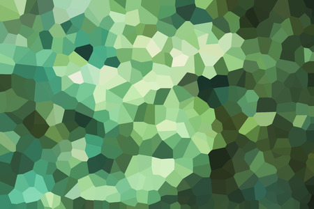 crystallize: Green crystallize abstract background in soft pastel colour tone