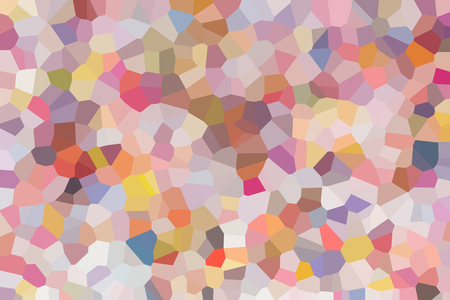crystallize: Colourful crystallize abstract background in pastel colour tone