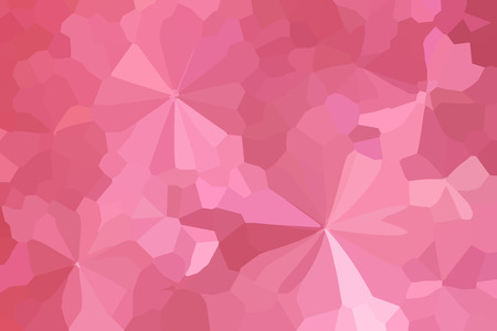 disseminate: Colourful crystallize abstract background in pastel pink colour tone