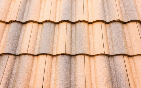 rooftile: Close up home carved roof-tile texture Stock Photo