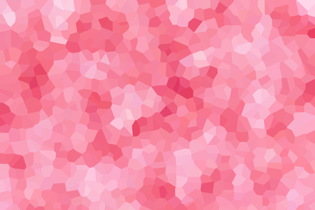 crystallize: Crystallize abstract background in pastel pink colour tone