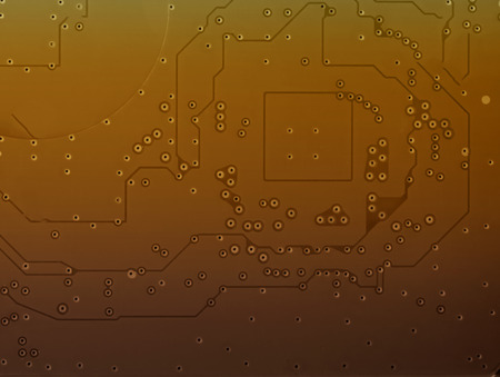 it tech: Abstract silver gold disk pattern technology background