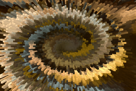selenium: Wonderful solid bar shape and twist brown and gold modern abstract background