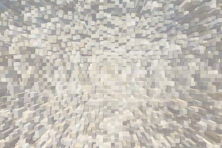 White and grey pastel square pattern abstract dimension background