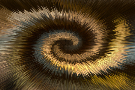 selenium: Wonderful twist brown and gold millennium abstract background Stock Photo