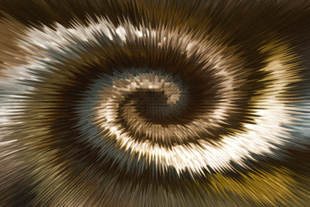 twist: Wonderful twist brown and gold millennium abstract background Stock Photo