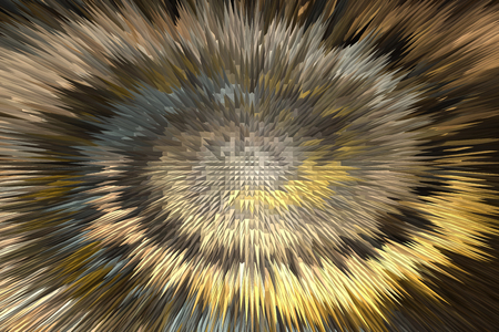 twiddle: Wonderful twist brown and gold millennium abstract background Stock Photo