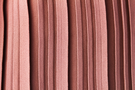 gather: Pink pastel colour abstract texture background of pleat or gather a fabric in folds cloth Stock Photo