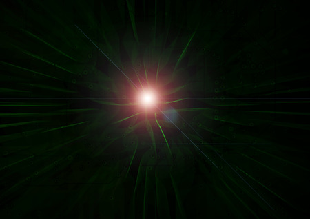 technolgy: Abstract modern light and lens flare on electronic technolgy dark background