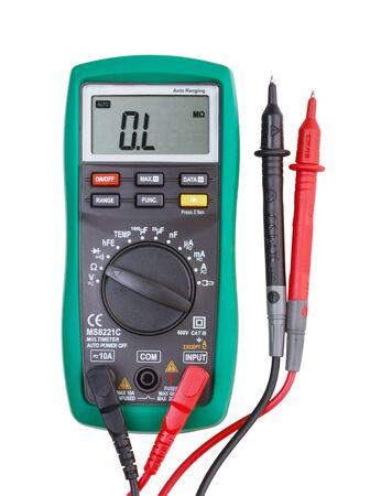 Digital multimeter isolated on white background Reklamní fotografie