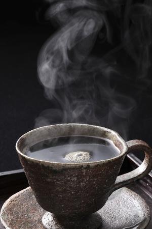 ホット コーヒー 写真素材