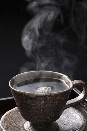 hot coffee photo