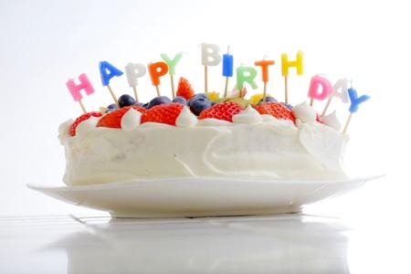 colorfulness: a birthday cake