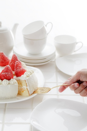 A cake 写真素材