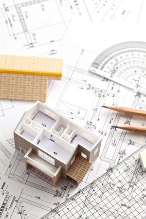 Housing plan Stock Photo - 12453931