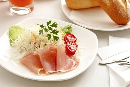 Raw ham Stock Photo - 12454042