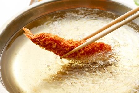 fried shrimp: Fried shrimp,  Stock Photo