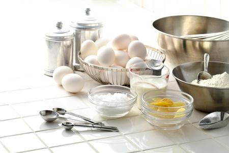 cake maken Stockfoto
