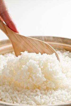 arroz blanco: Arroz Foto de archivo