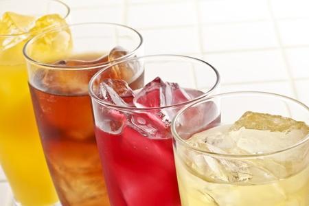 boissons gazeuses Banque d'images