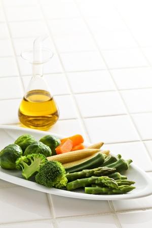 Boyle, salad Stock Photo - 12563606