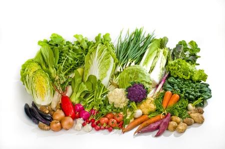 vegetables set Stock Photo - 12563609