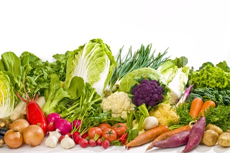 leafy: vegetables set