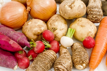 root vegetables: ortaggi a radice