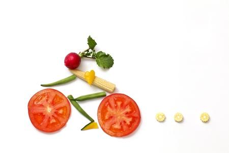nutritious: bike Stock Photo