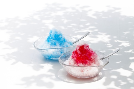 Shaved ice,