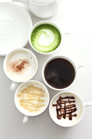 latte: coffee  drinks