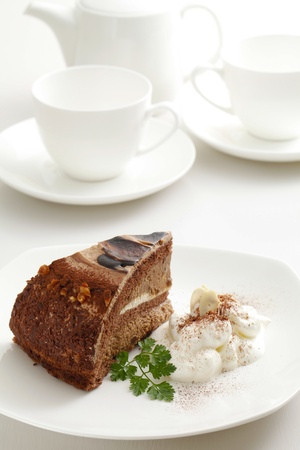 coffee breaks: chocolate cake