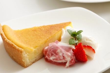 coffee breaks: cheese cake