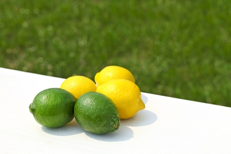 lemon, lime photo
