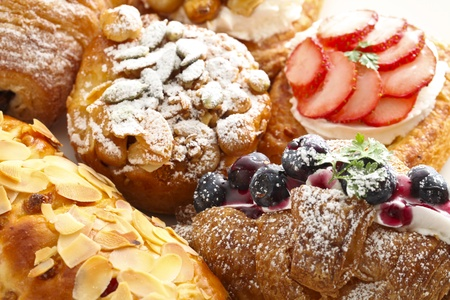 pastry: pastries Stock Photo