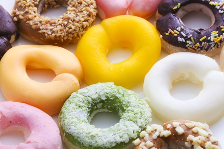 raw donuts,