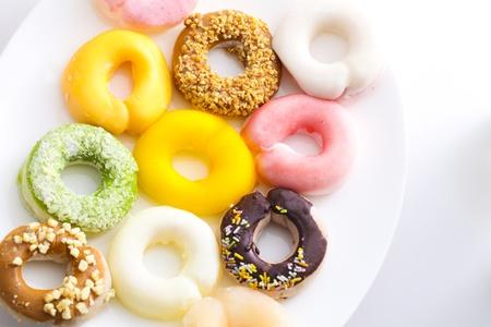 ki: raw donuts,