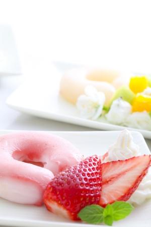 ki: dessert Stock Photo