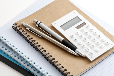 office stationery:  office supplies Stock Photo