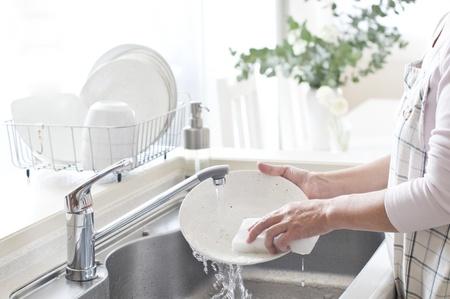 llave de agua: las tareas del hogar