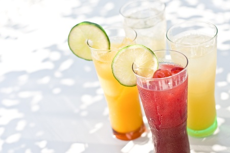 bebidas frias: Zumos