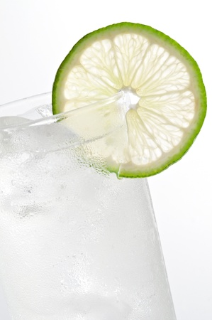 lime fruit: tonic water