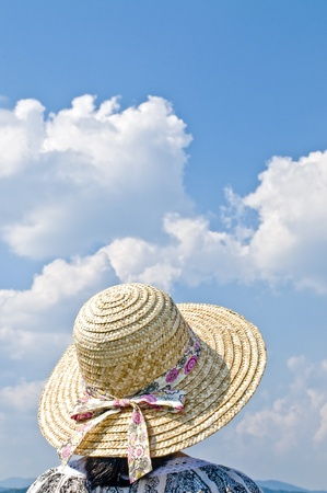 Straw Hat Stock Photo - 12628439