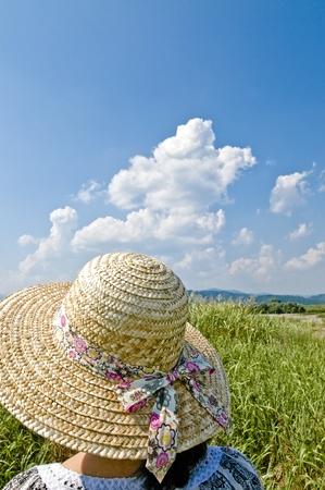 straw hat: Paglietta Archivio Fotografico