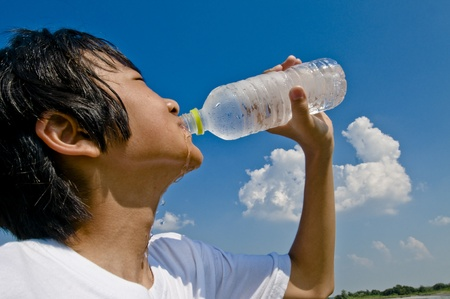 water droplets: Drink water, Stock Photo