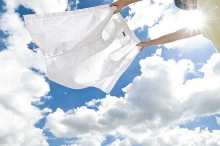 lavanderia: secar la ropa