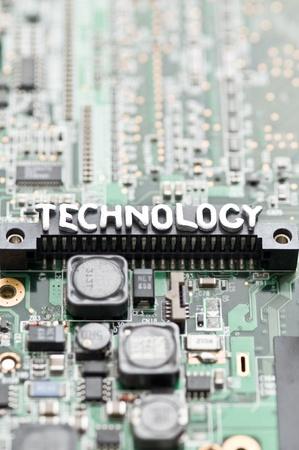r image: tecnologia Immagine Archivio Fotografico